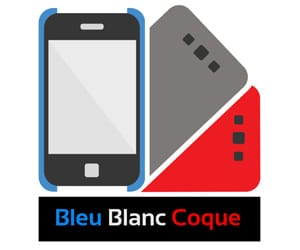 bleu blanc coque